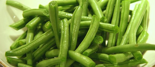 Copy of green beans in a bowl