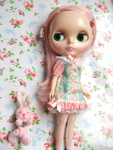 Blythe Peach by mon*chaton.