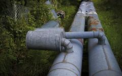 Pipe (henning.r) Tags: pentax rohr pipeline kiel schleuse rohre polfilter holtenau istdl2