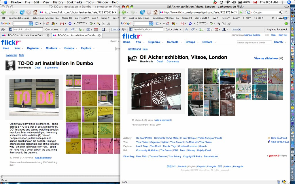 flickr today/yesterday