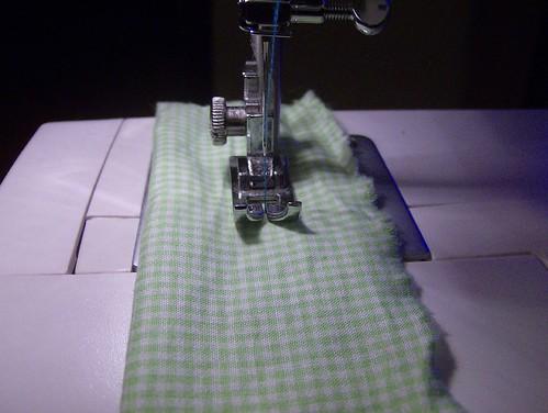 coser tubo