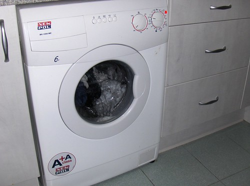 lavadora en casa