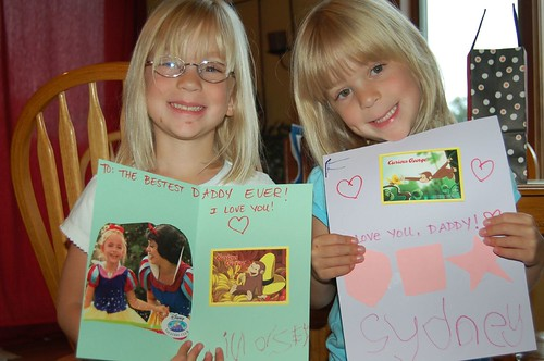 So proud of the birthday card's they made!