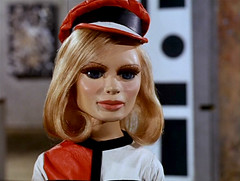 The Duchess Assignment #8 (ZardozSpeaks) Tags: art television lady century 60s penelope modernism exhibition anderson swinging thunderbirds screencapture fabulous sylvia sixties 20th gerry modernity picturesatanexhibition twentieth theduchessassignment creightonward likeapendulumdo