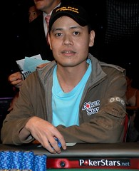 Derick Hernandez 9th place at Final Table APPT Manila