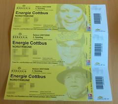 Tickets Borussia Dortmund - FC Energie Cottbus