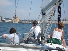 looking toward the Dole boat (kirinqueen) Tags: sailing sandiego sandiegobay sandiegoharbor