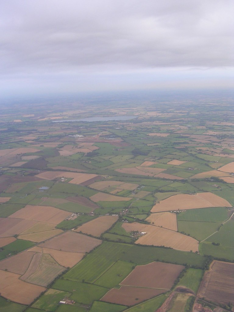 Takeoff from Coventry airport.