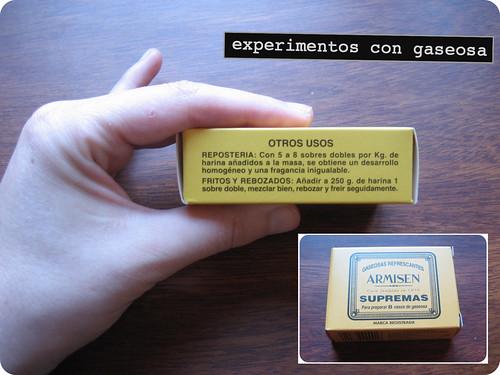 experimentos con gaseosa