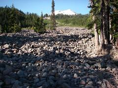 More boulder field