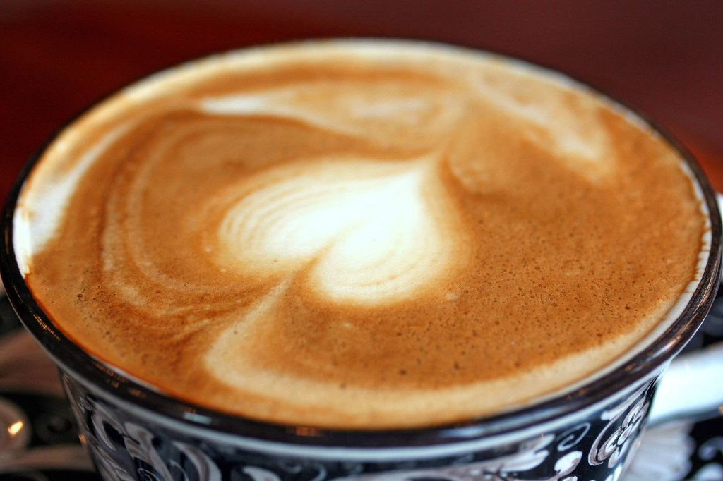 Detail of cappuccino