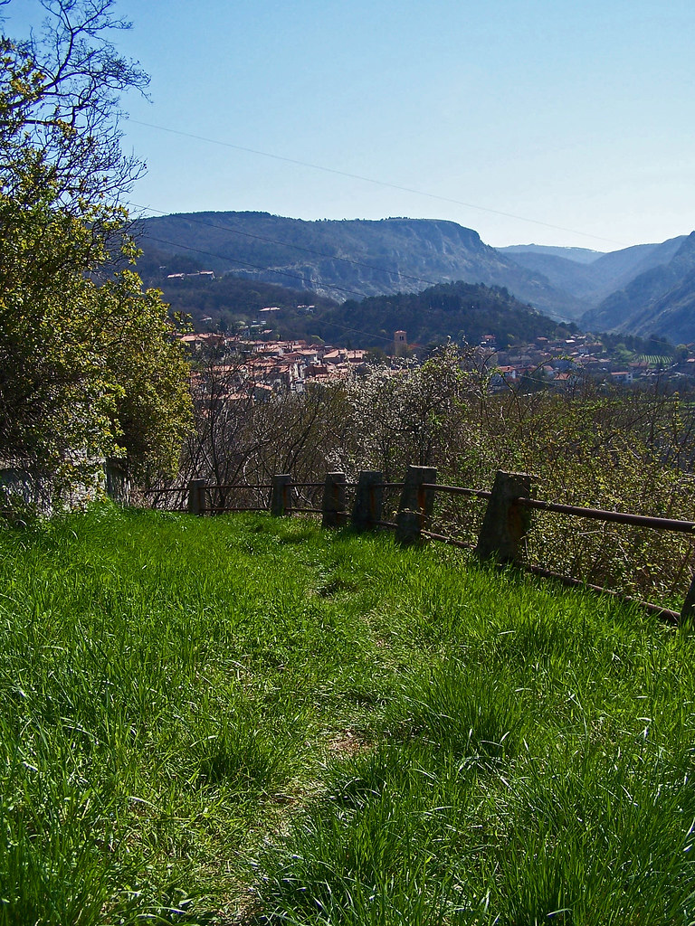 Panorama verso Val Rosandra