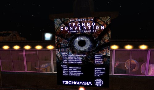 4th techno convention in second life