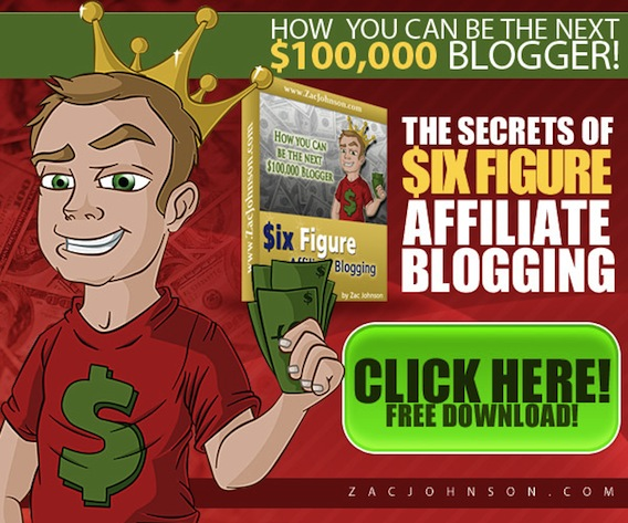 Six Figure Affiliate Blogging