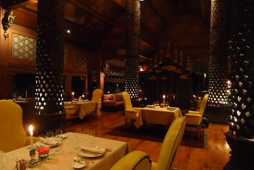 清邁東方文華酒店內的法國餐廳