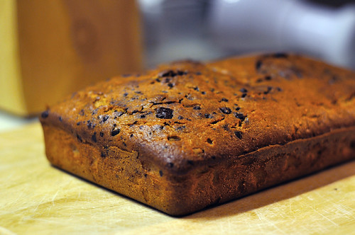 Chocolate Swirl Pound Cake...minus swirl...