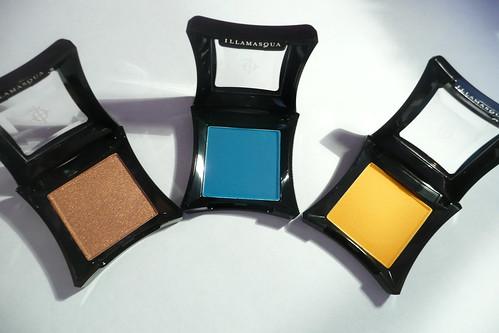 Illamasqua eyeshadows