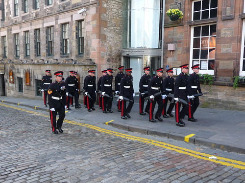 Military at Edinburgh
