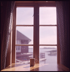 .good morning lofoten. (andrenzo) Tags: sky house love 6x6 film cup window norway breakfast composition square table photography photo casa shine kodak hasselblad medium format scandinavia tavolo luce norvegia nord scandinavian colazione tazza pellicola autaut fourlines andrenzo andreacolombo colomboandrea