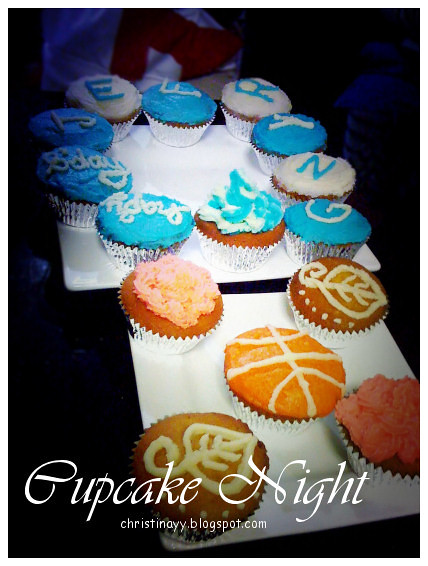 Cupcake Night: Homemade Cupcakes