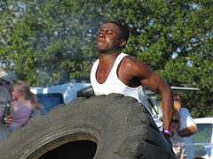 strength (Nanix10) Tags: southafrica muscle expression competition strong strength homem forte easterncape strongman africadosul portalfred faceexpression