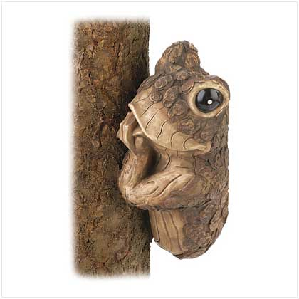 39698 Peek-a-boo Frog Tree Decor $10.95