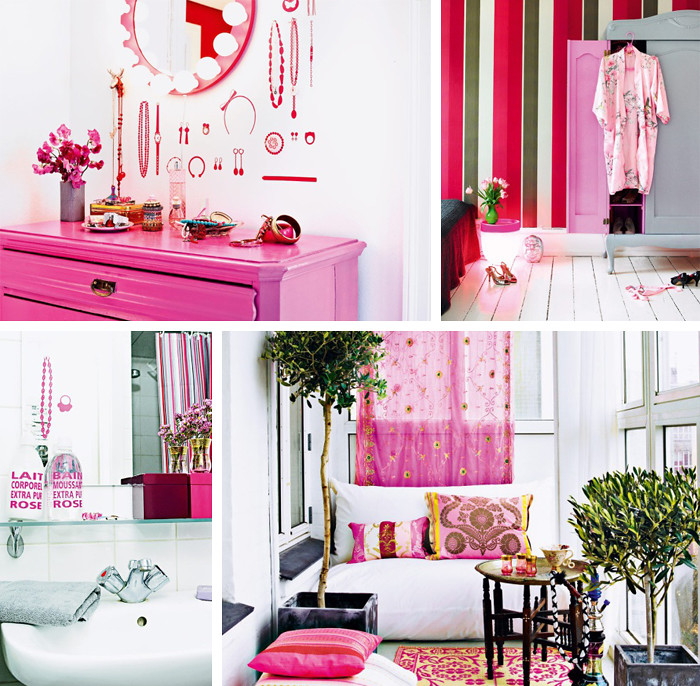 Inspirational Homes: Pink Princess Home