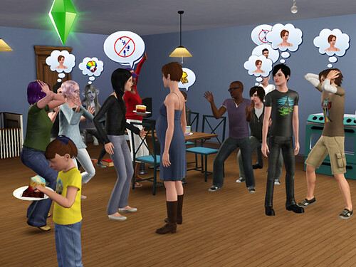 When a birthday party turns into a birth