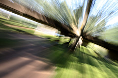 Willen Lake -  Zoom Blur (Terry M1) Tags: lake abstract blur canon zoom terry milton keynes mcbride willen 50d