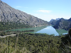 Upper fresh water basin on Mallorca