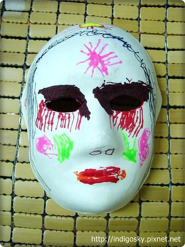 萬聖節面具