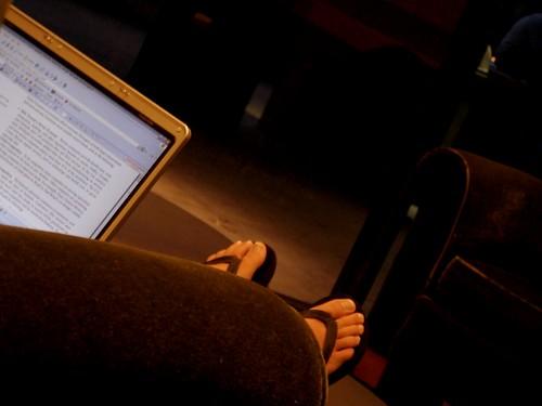 Geeky Feet!!! :)