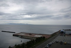 Kanita port and Shimokita peninsula