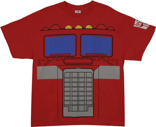 camiseta de Optimus Prime G1