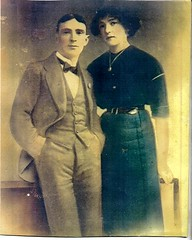 Dublin Ainscough_Annie (Ainsc) b.1895 & James Canning