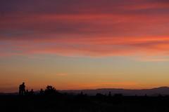 Santa Fe sunset draws a crowd