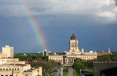 rainbow over the legislature (axiepics) Tags: windows sky canada building window buildings interestingness rainbow winnipeg image parliament manitoba explore getty exploreinterestingness legislature province gettyimages parliamentbuildings gettyimage supershot explored interestingnesstop500 interestingness260 i500 2on2 gettyimagescom impressedbeauty diamondclassphotographer flickrdiamond friendlychallenges friendlychallenges4 gettychoiceaugsept09 highestposition260onsaturdayjuly72007 gettyimagesaxiepics gettyimageaxiepics augtooct09getty gettyimageslicensedforsale copyrightalexskellyallrightsreserved