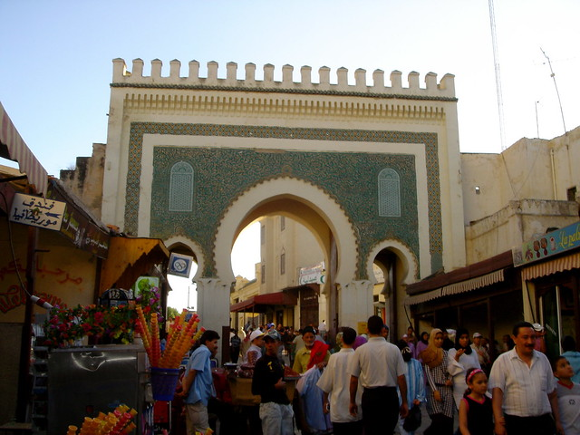 Bab Boujeloud - Exiting the Medina