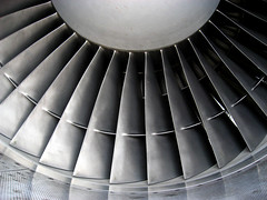 Fan blades of a AVRO engine (Lost in Transition) Tags: airplane engine fanblades avro skyhigh flyinhigh lostintransition matthiasfranke marrymeflyforfree