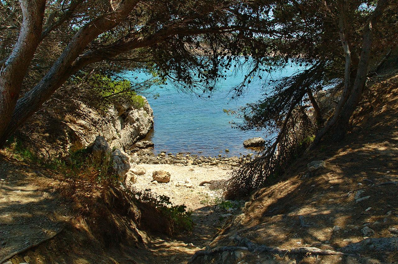 Secret Cove in L'escala