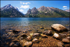 View of Jenny Lake ([Christine]) Tags: wyoming grandtetons circularpolarizer grandtetonnationalpark jennylake naturesfinest supershot specnature mywinners anawesomeshot impressedbeauty ultimateshot superbmasterpiece diamondclassphotographer explore072307351