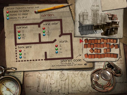 Mortimer Beckett and the Secrets of Spooky Manor Game Screenshot 3