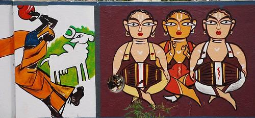 Painting on Chennai Wall - 3
