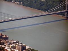 George Washington Bridge (omkevin) Tags: nyc river manhattan nj aerial hudson lga gwb aerials aerialnyc