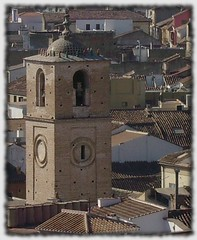 Una torre mudéjar en Málaga (Javier Rey el de Málaga) Tags: santiago church iglesia vista málaga alcazaba mudéjar