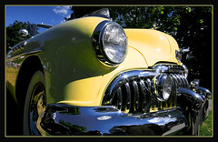 Yellow (redmann) Tags: ontario canada classic car yellow chrome soe goderich 10mm sigma1020 thecontinuum canon400d aplusphoto diamondclassphotographer flickrdiamond ysplix