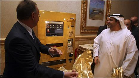Gold Vending Machine in Abu Dahbi