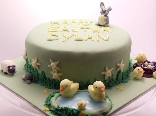 big easter bunny cake