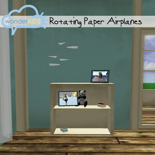 <(wonderkids)! paper airplanes