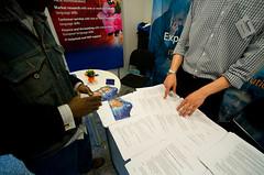 Career Fair 2010 (ceuhungary) Tags: campus career shattuck budapesthungary centraleuropeanuniversity careerfair ceustudents sergesych